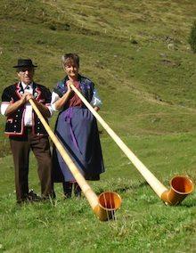 Alphorn Duo Glogghüs